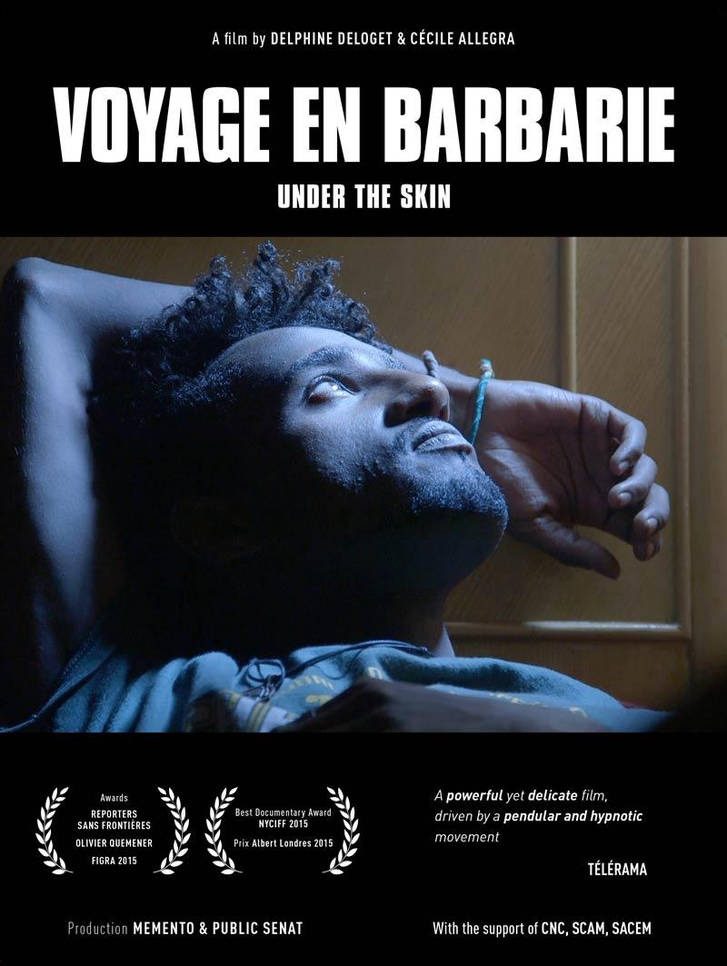 Affiche du film Voyage en barbarie