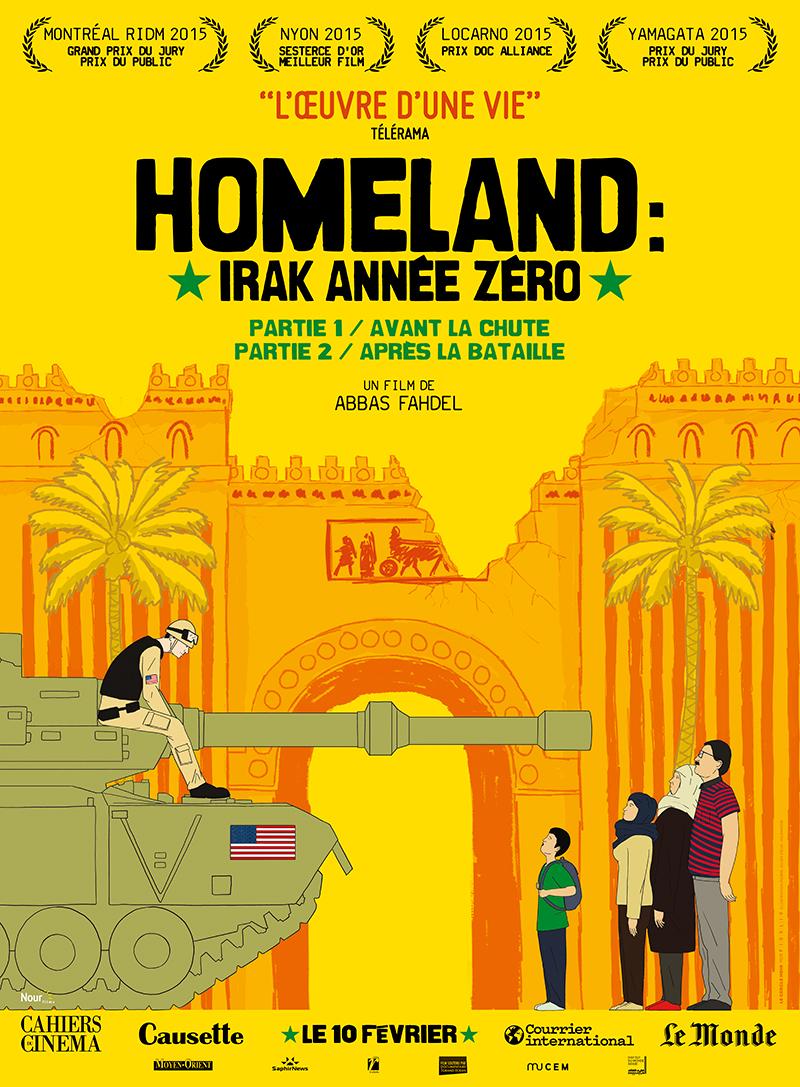 Affiche du film Homeland, Irak année zéro